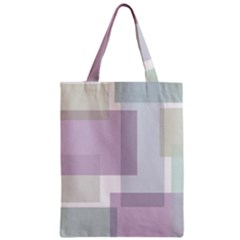 Abstract Background Pattern Design Zipper Classic Tote Bag