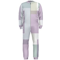 Abstract Background Pattern Design OnePiece Jumpsuit (Men)