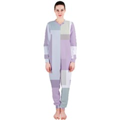 Abstract Background Pattern Design OnePiece Jumpsuit (Ladies)
