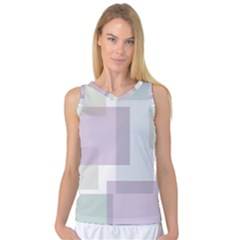 Abstract Background Pattern Design Women s Basketball Tank Top