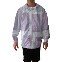 Abstract Background Pattern Design Hooded Wind Breaker (Kids)