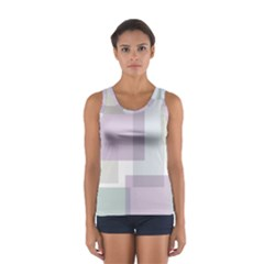 Abstract Background Pattern Design Women s Sport Tank Top