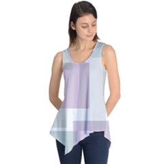 Abstract Background Pattern Design Sleeveless Tunic