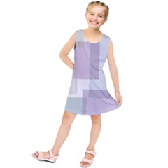 Abstract Background Pattern Design Kids  Tunic Dress