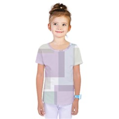 Abstract Background Pattern Design Kids  One Piece Tee