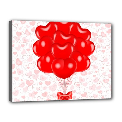 Abstract Background Balloon Canvas 16  x 12