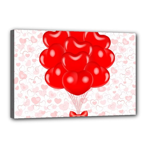 Abstract Background Balloon Canvas 18  x 12