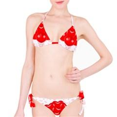 Abstract Background Balloon Bikini Set