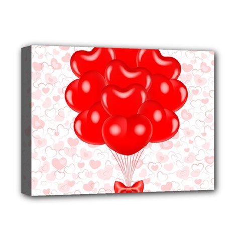 Abstract Background Balloon Deluxe Canvas 16  x 12