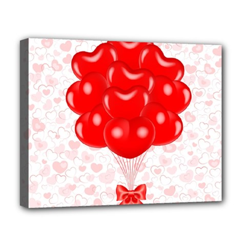 Abstract Background Balloon Deluxe Canvas 20  x 16