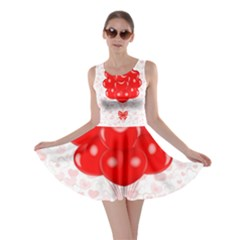 Abstract Background Balloon Skater Dress