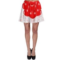 Abstract Background Balloon Skater Skirt