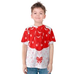 Abstract Background Balloon Kids  Cotton Tee