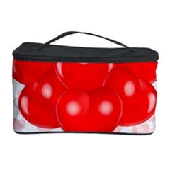 Abstract Background Balloon Cosmetic Storage Case
