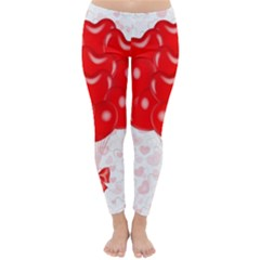 Abstract Background Balloon Classic Winter Leggings
