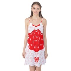 Abstract Background Balloon Camis Nightgown