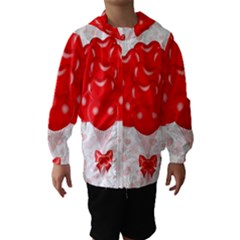 Abstract Background Balloon Hooded Wind Breaker (Kids)