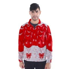 Abstract Background Balloon Wind Breaker (Men)