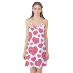 Heart Love Pink Back Camis Nightgown