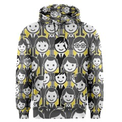 Man Girl Face Standing Men s Pullover Hoodie