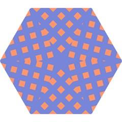 Orange Blue Mini Folding Umbrellas