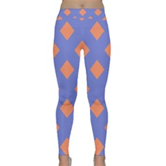 Orange Blue Classic Yoga Leggings