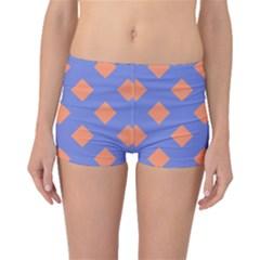 Orange Blue Boyleg Bikini Bottoms