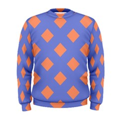 Orange Blue Men s Sweatshirt