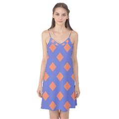 Orange Blue Camis Nightgown