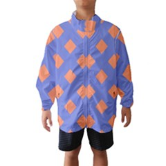 Orange Blue Wind Breaker (Kids)