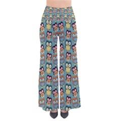 Owl Eye Blue Bird Copy Pants