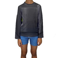 On Black Kids  Long Sleeve Swimwear