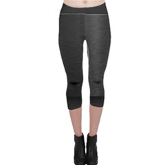On Black Capri Leggings