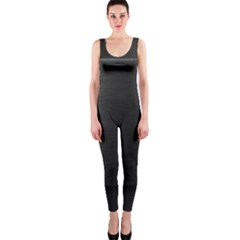 On Black OnePiece Catsuit