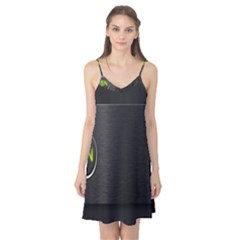 On Black Camis Nightgown