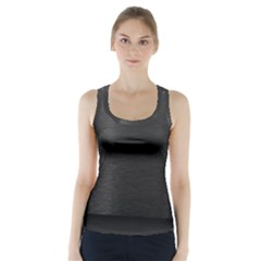 On Black Racer Back Sports Top