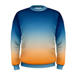 Rainbow Blue Orange Purple Men s Sweatshirt