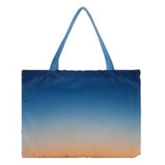 Rainbow Blue Orange Purple Medium Tote Bag