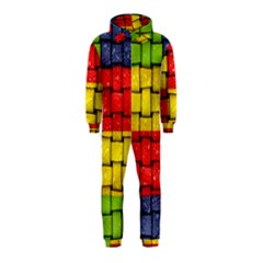 Pinterest Water Colorfull Hooded Jumpsuit (Kids)