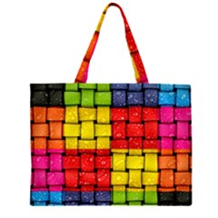 Pinterest Water Colorfull Large Tote Bag