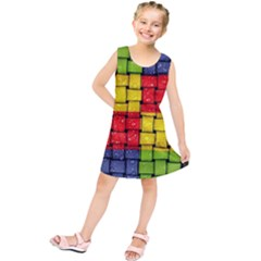 Pinterest Water Colorfull Kids  Tunic Dress