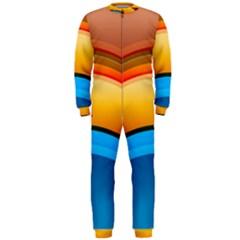 Rainbow Color OnePiece Jumpsuit (Men)