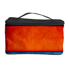Red Blue Cosmetic Storage Case