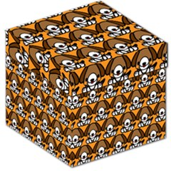 Sitbeagle Dog Orange Storage Stool 12