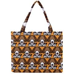Sitbeagle Dog Orange Mini Tote Bag