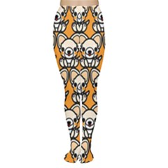Sitchihuahua Cute Face Dog Chihuahua Women s Tights