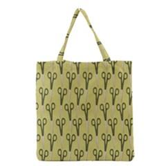Scissor Grocery Tote Bag