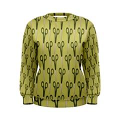 Scissor Women s Sweatshirt
