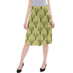 Scissor Midi Beach Skirt