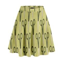 Scissor High Waist Skirt